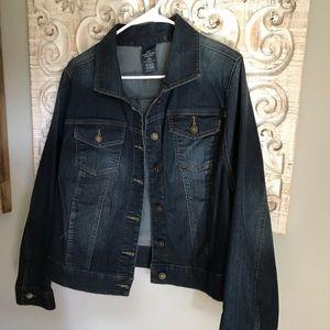 Women's Denim Jacket Size 1X...EUC